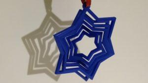 3D Printing Gallery Ornament Star