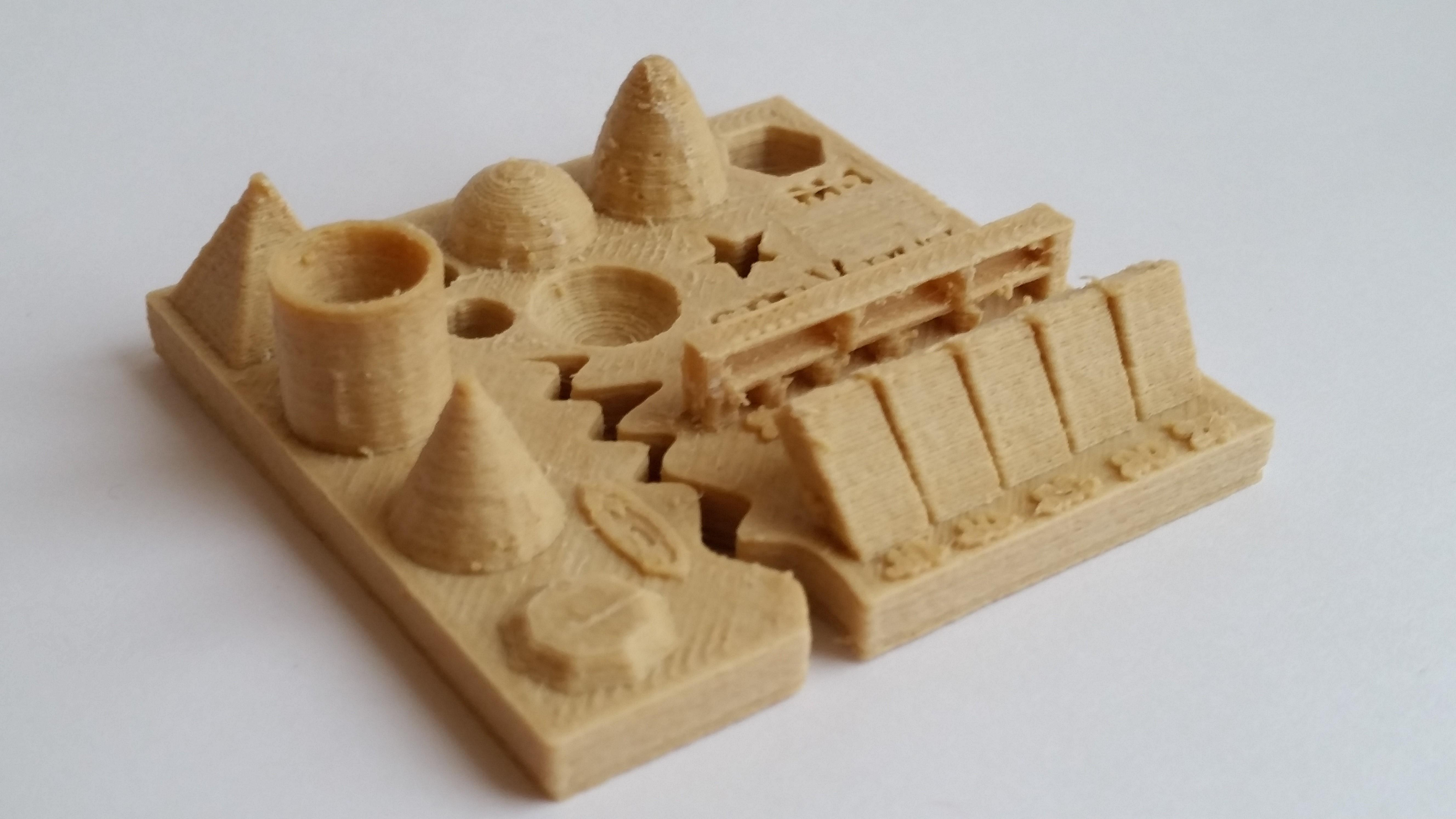 3D Printing Test - Resolving Stringing, Cura Settings