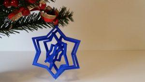 Ornament Star Original Size