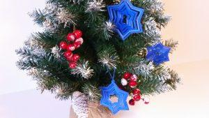 Ornament Star on the Christmas Tree