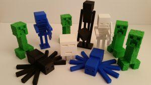 PLA - 3D Printing Material - Minecraft Monsters