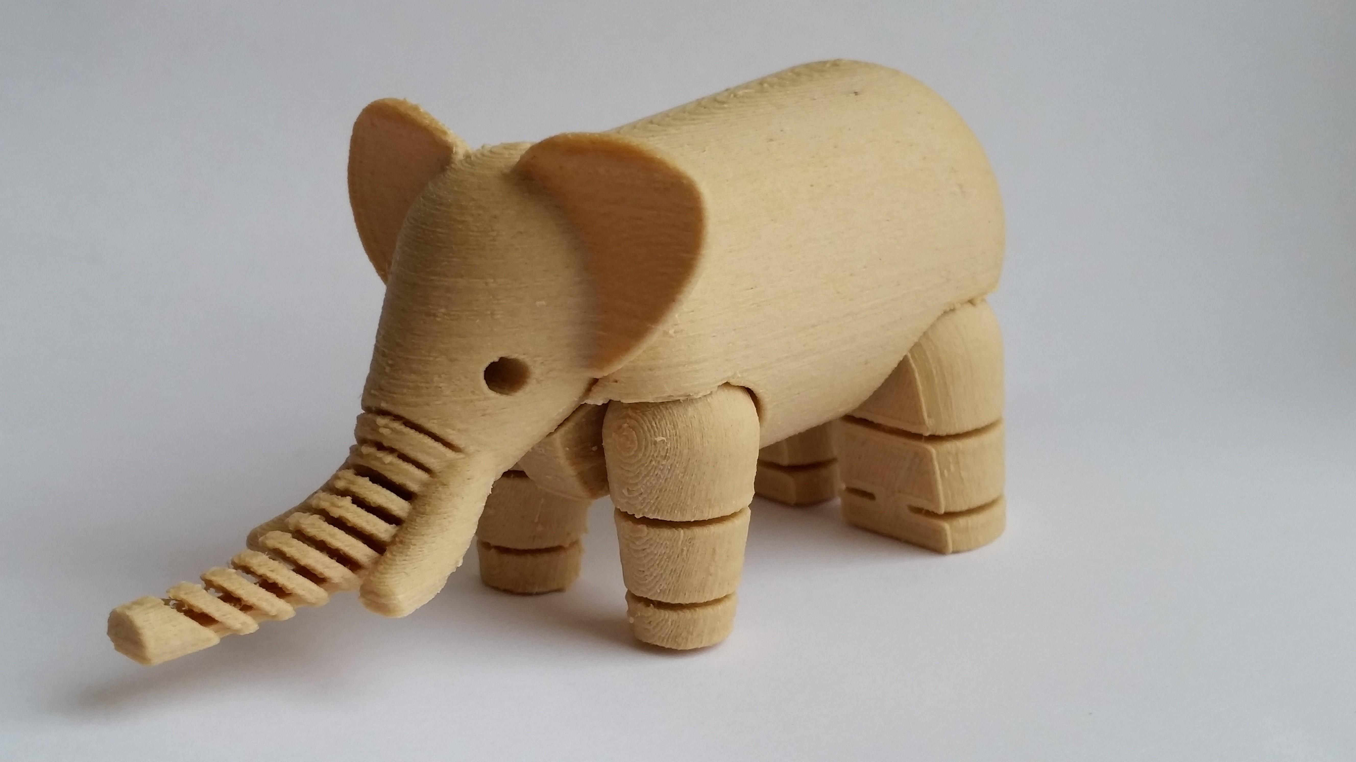 Wood Filament Review - 3D Printing Materials - Feels, Smells Like Wood