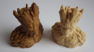 Wood Filament - 3D Printing Material - Groot
