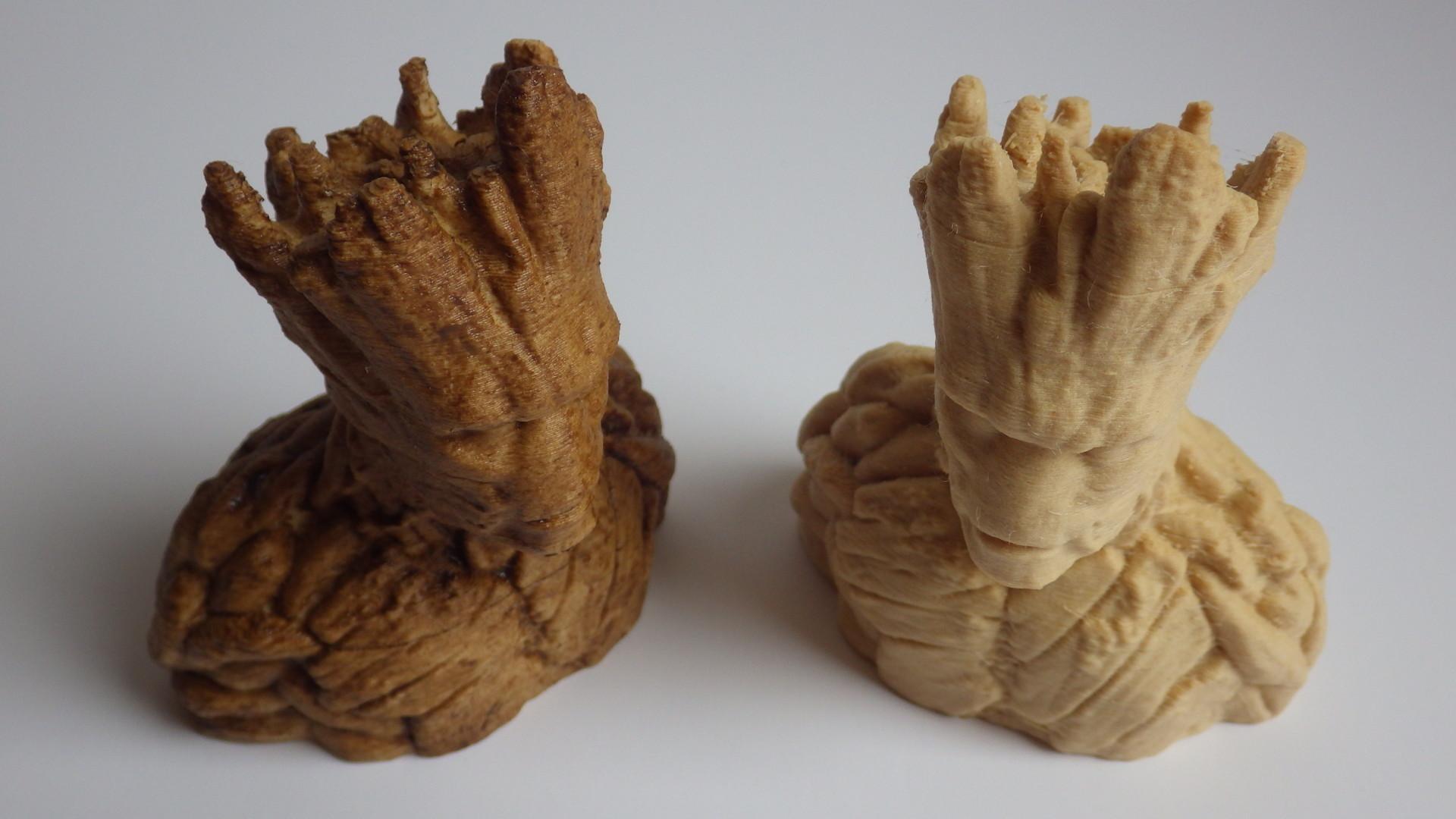 wood filament review 3d printing materials feels smells like wood