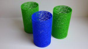 Green and Blue PLA - 3D Printing Material - Tower of PI