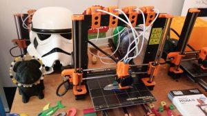 Prusa i3 MK2 Multicolour 3D Printer at DIGICAL Show