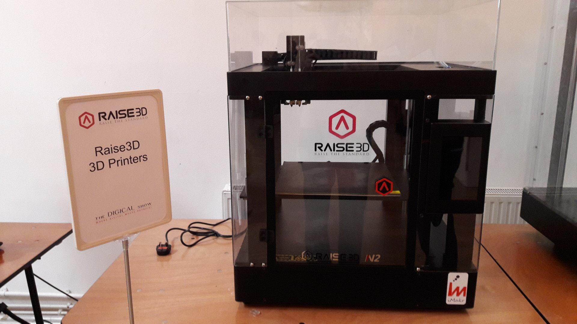D Printer Exhibition Usa : Raise d printer dwithus