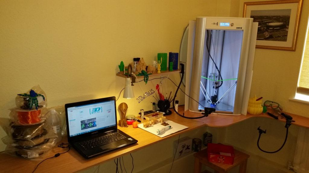 Delta Wasp - One of The Best 3D Printers for Enthusiasts