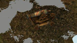 3D Scan of GW2 Cannon in ReMake