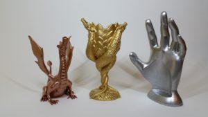 Spray Painting 3D Prints - Adalina, Dragon Cup and Wine Hand