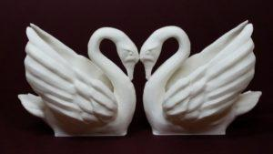 Odile The Swan - White PLA