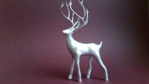 Spray Painting 3D Prints Christmas Deer