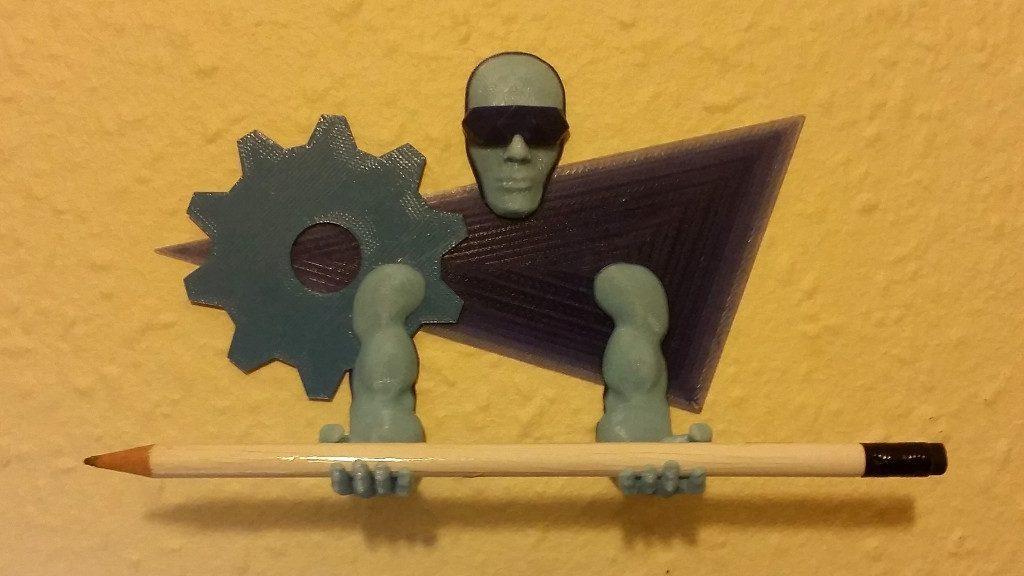 3D Printing Guardian Pen Holder