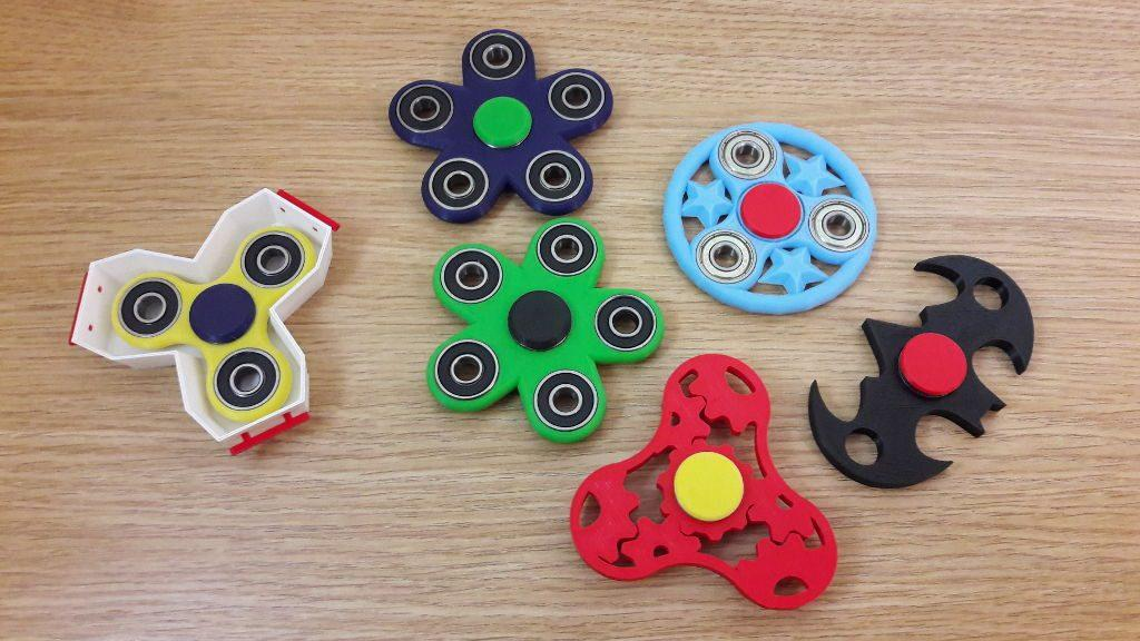 why are fidget spinners popular in 3d printing