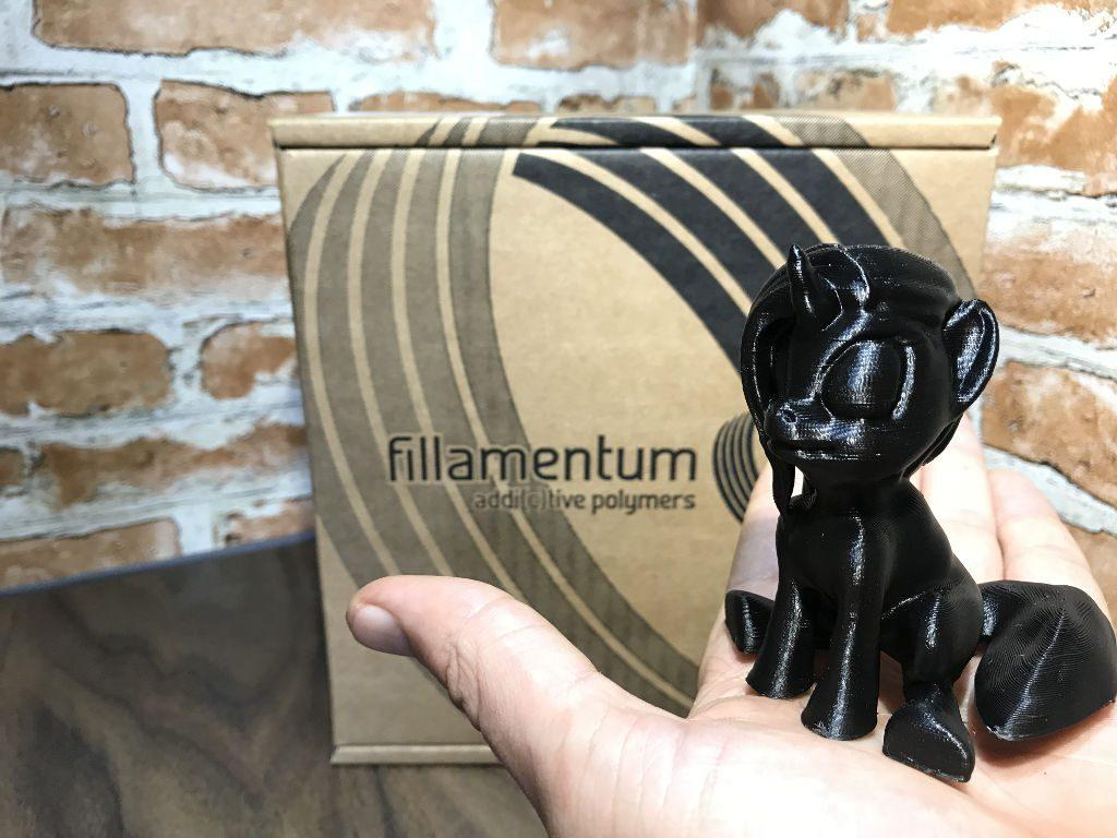 Fillamentum 3D Printer Filament - Traffic Black
