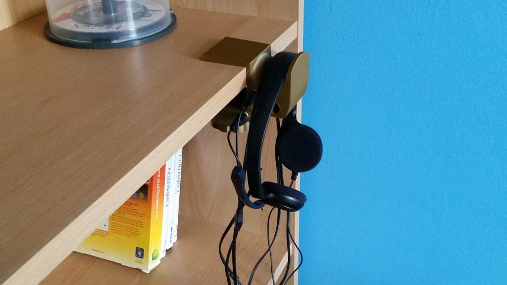 3400eaa78f3 Functional 3D Printing - Headphone Holder - 3DWithUs