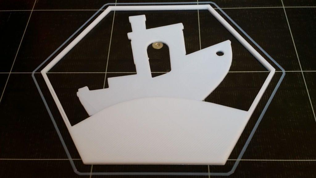 3D Printed Hexagon - 3DBenchy