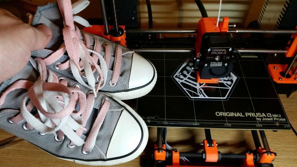 3D Printed Hexagon - Sneakers