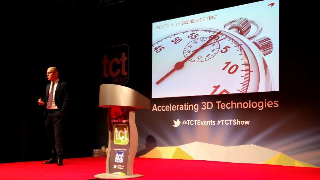 """3D Printing in F1 """"The Business of Time"""""""