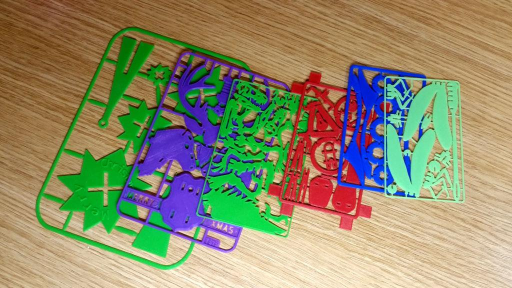 3D Printed Business Card Models - Have Fun to Print, Assemble, Create!