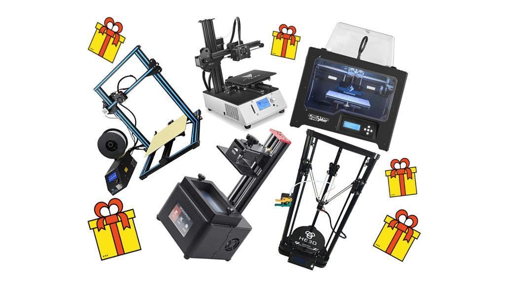 3D Printer Giveaways - Entry for Free 3D Printing Related