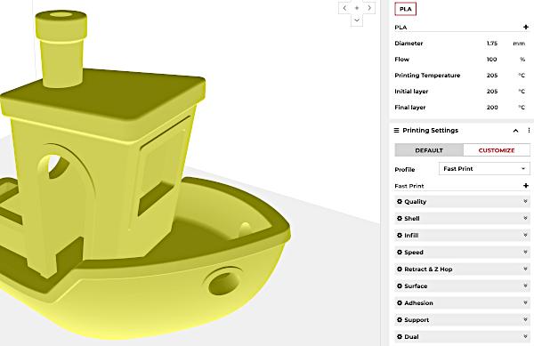 Rose3D Slicer Software