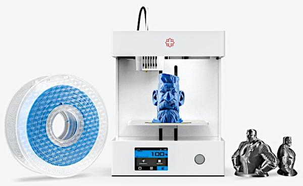 The Rose Go 3D Printer, Filament and Makes