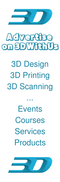 Advertise on 3DWithUs